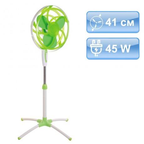 41 см зелен вентилатор на стойка MUHLER