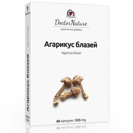 Агарикус блазей (Agaricus blazei), 60 капсули х 555 мг