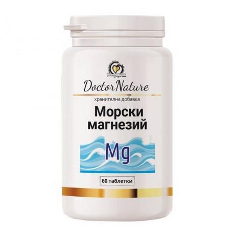 Dr.Nature Морски магнезий, 60 таблетки