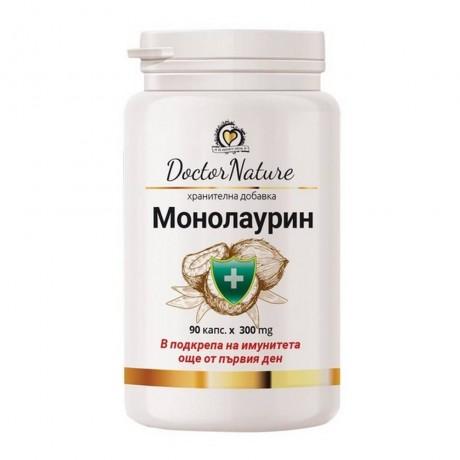 Dr.Nature Монолаурин, 90 капсули