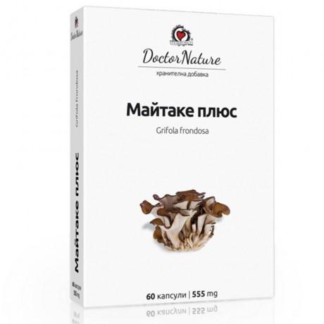 Майтаке + (Maitake +), 60 капсули х 555 мг