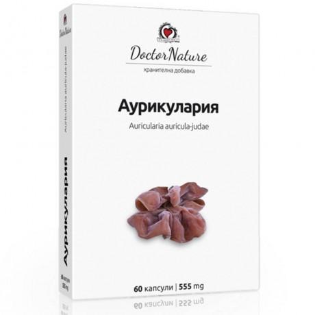 Аурикулария (Auricularia), 60 капсули х 555 мг