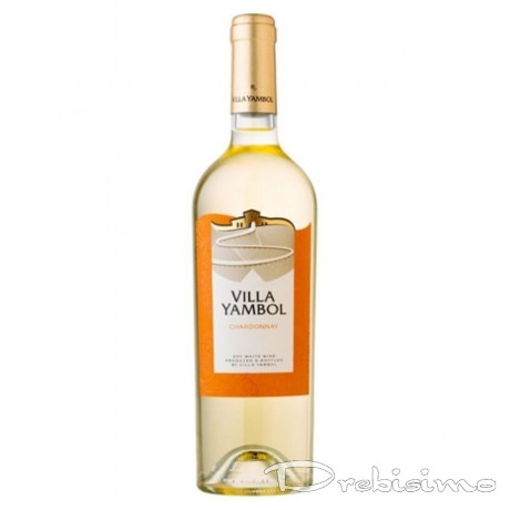 Бяло вино Вила Ямбол Шардоне 0,250 л 13%