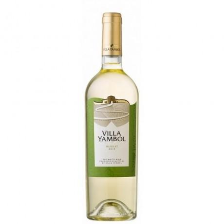 Бяло вино Вила Ямбол Мускат 0,250 л 10,5%