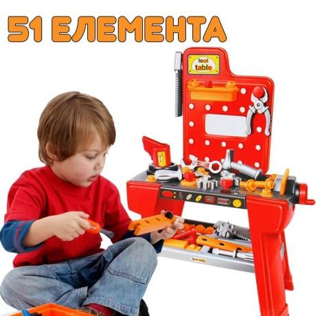 Детска сервизна маса с инструменти