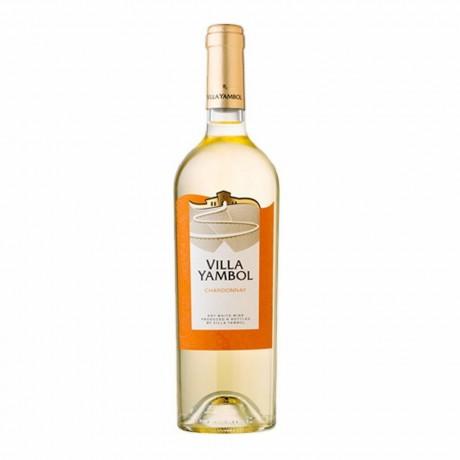 Бяло вино Вила Ямбол Шардоне 0,375 л 13%