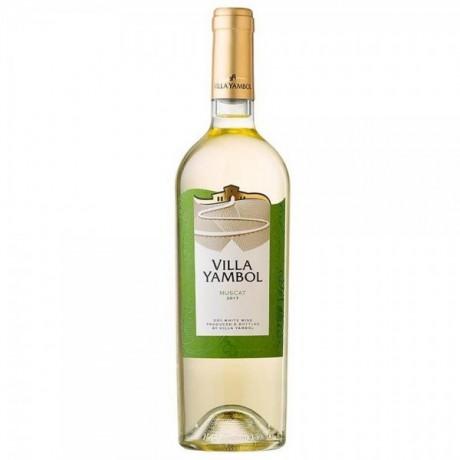 Бяло вино Вила Ямбол Мускат 0,375 л 12,5%