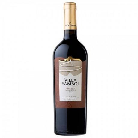 Червено вино Вила Ямбол Каберне 0,375 л 13,5%