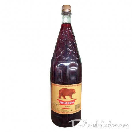 Червено вино Меча Кръв 2 л 11%