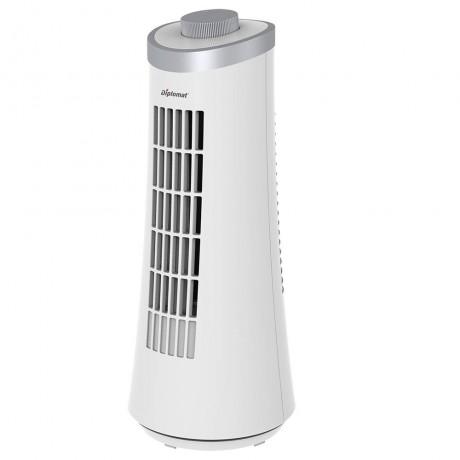 Бяла мини вентилаторна кула Diplomat