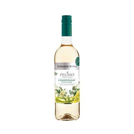 Бяло вино Домейн Бойар Пелино Шардоне 0,75 л 12,5%