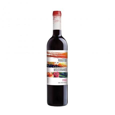 Червено вино Paradiso Mediterraneo Сира 0,75 л 14%