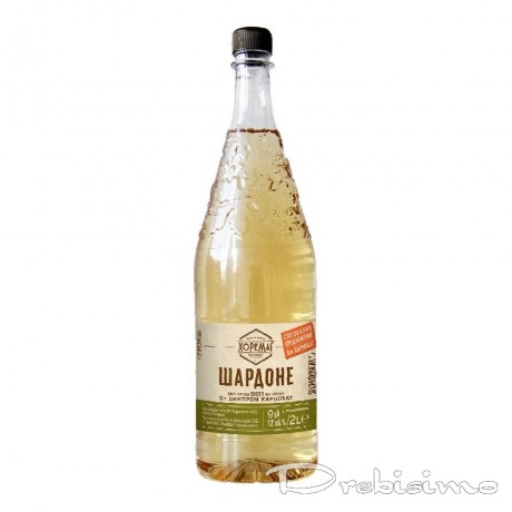 Бяло вино Карнобат Хоремаг Шардоне 2 л 12%