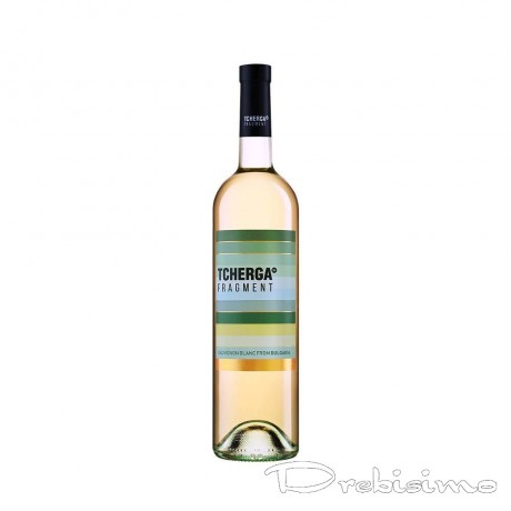 Бяло вино Tcherga Совиньон Блан 0,75 л 13,5%