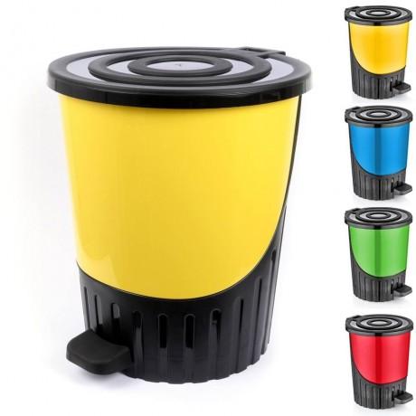 26 л кош за смет с уникален дизайн в различни цветове DUNYA