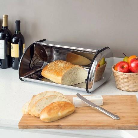 Малка кутия за хляб инокс