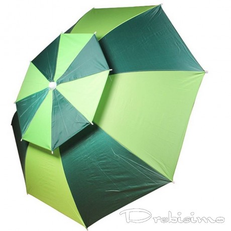 1,8 м плажен чадър с двоен таван против вятър Muhler