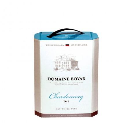 Бяло вино Домейн Бойар Шардоне 5 л 13%