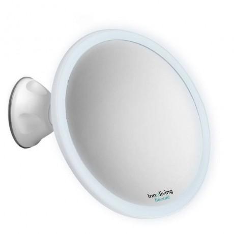 5 х увеличително козметично огледало с осветление и вакуумна вендуза INNOLIVING