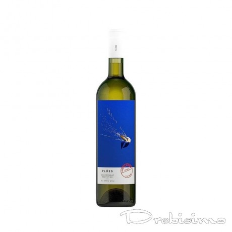 Бяло вино Ploes Шардоне 0,75 л 13,5%