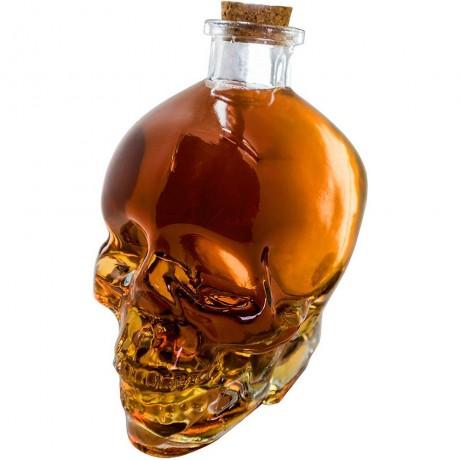 0,750 л стъклена бутилка за алкохол - череп от Vin Bouquet