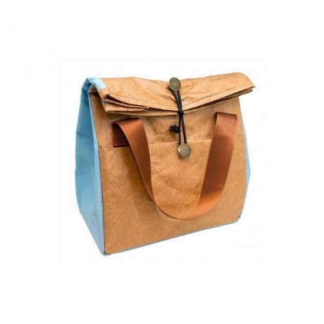 Синя термоизолираща чанта за храна от Nerthus