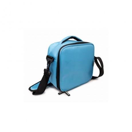 Синя термоизолираща чанта с два джоба от Nerthus