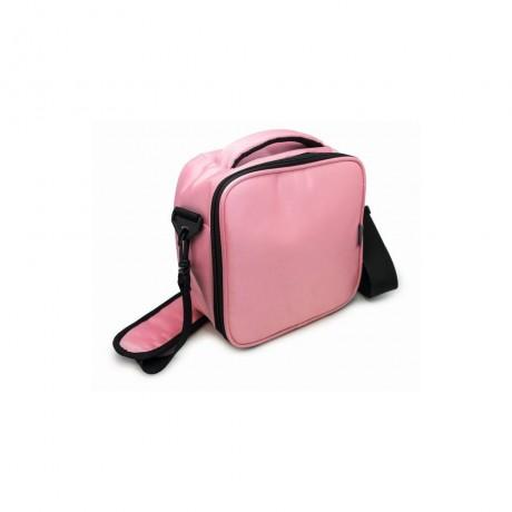 Розова термоизолираща чанта с два джоба от Nerthus