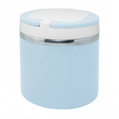 0,75 л пастелно синя двустенна спортна бутилка с дръжка от Nerthus