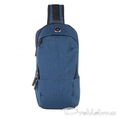Малка синя раница за през рамо SWISSDIGITAL от серия URBAN