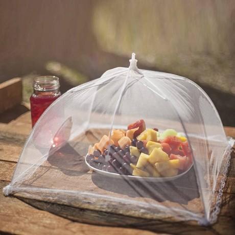 Голямо чадърче - покривало за храна против мухи
