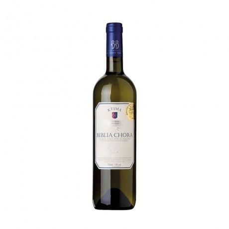 Бяло вино Biblia Chora Совиньон Блан Асиртико 0,75 л 13%