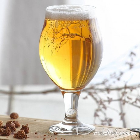 6 бр стъклени чаши за бира по 0,5 л LAV модел Angelina