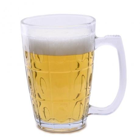 0,3 л стъклена халба за бира ASTRA BLUE