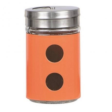Солница Muhler MR-1407O Ø5xH8cm, оранжева