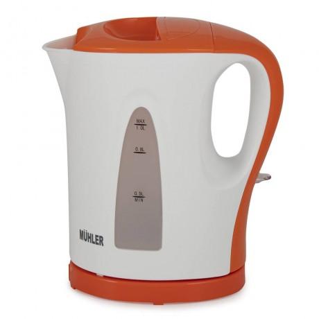 Кана електрическа Muhler WK-7107 1L оранжево