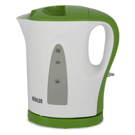Кана електрическа Muhler WK-7107 1L зелен