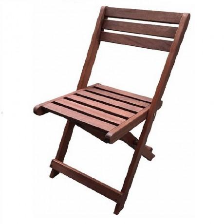 Сгъваем стол Muhler дърво Meranti, 39х50х79cm