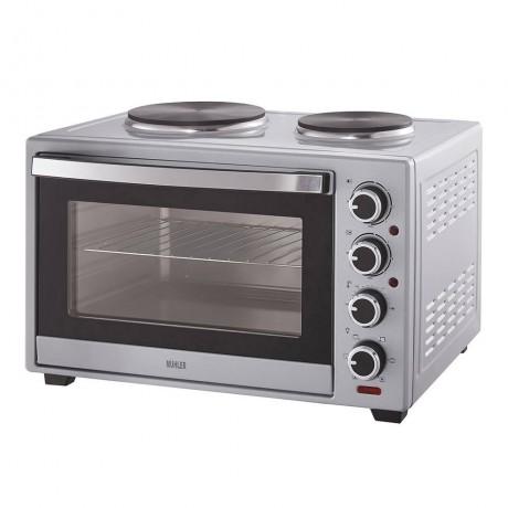 Печка готварска Muhler MN-3819S, сребриста