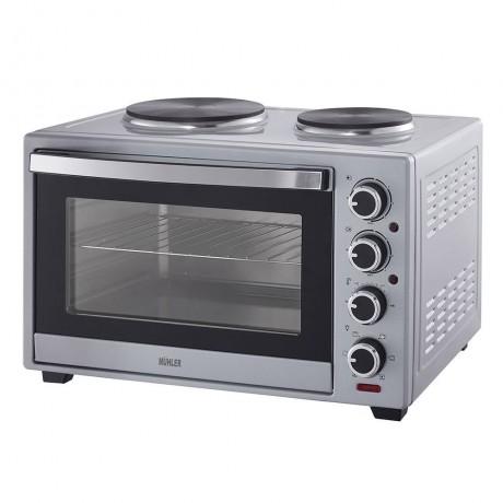 Печка готварска Muhler MN-4819S сребриста