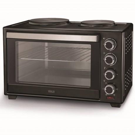 Печка готварска Muhler MN-3809 N черна
