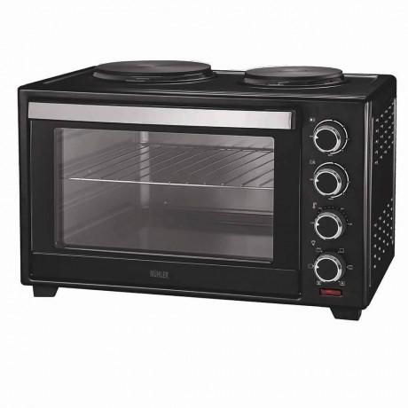 Печка готварска Muhler MN-4809 N чернa