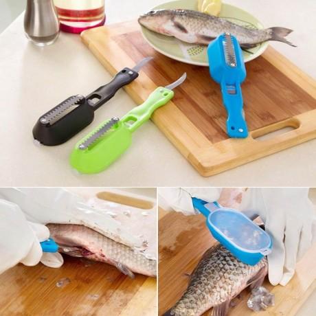 Комбиниран прибор за чистене на риба