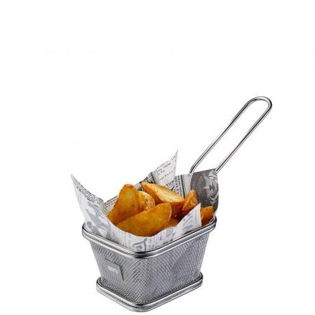 Малка кошница за сервиране на пържени картофки GEFU от серия BBQ