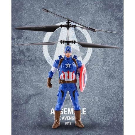 Летящ Капитан Америка