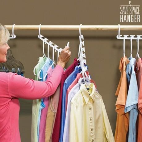 Вертикална мулти закачалка за дрехи