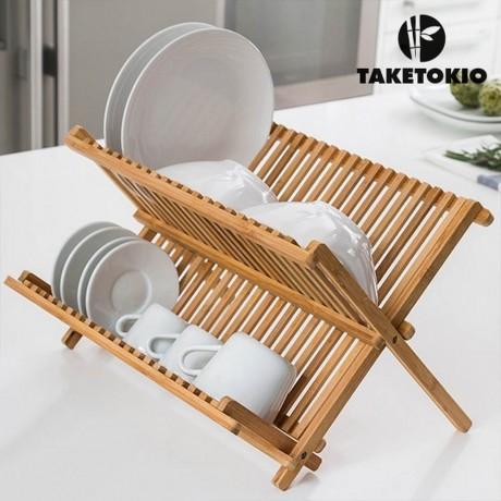 Бамбуков сушилник TAKETOKIO