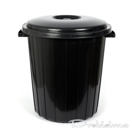 25 л черно кошче за боклук с капак Planet