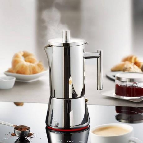 Гейзерна стоманена кафеварка за 6 чаши кафе GEFU от серия NANDO