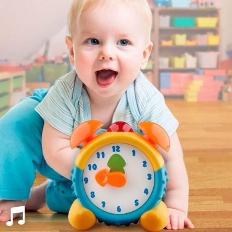 Бебешки будилник със звук и светлина